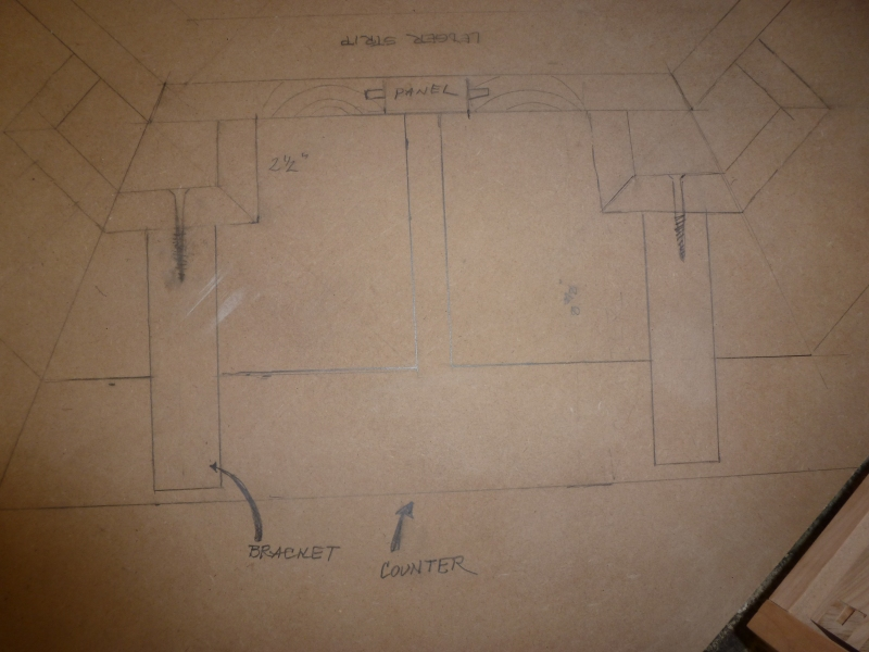 ladies writing desk plans