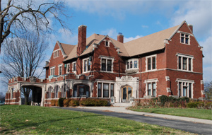 The Glossbrenner Mansion (Photo from Indiana Landmarks Foundation)