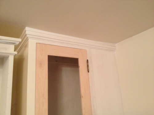 Crown molding part 2