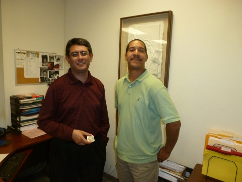James Zavala in accounts receivable with Mike SURNAME in DEPARTMENT