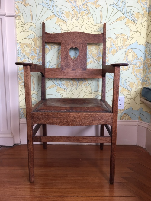 David Berman_Voysey chair straight on