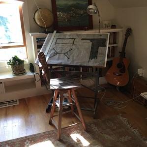 Gimson table drawing