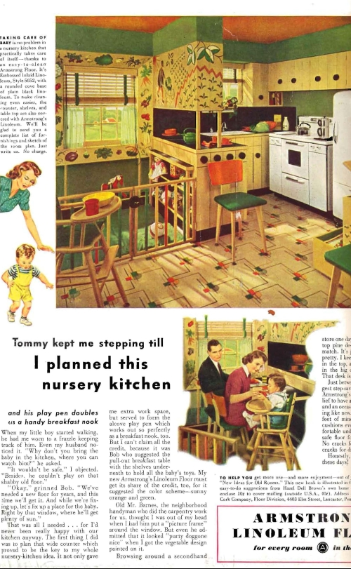 The greenest house Linoleum1943